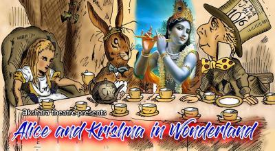 Alice & Krishna In Wonderland
