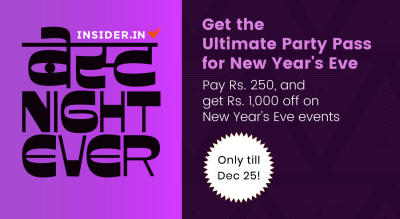 Ultimate Party Pass for New Year's Eve