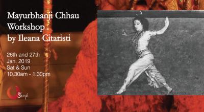 Mayurbhanji Chhau Workshop by Ileana Citaristi