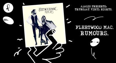 Thursday Vinyl Night- Rumours by Fleetwood Mac