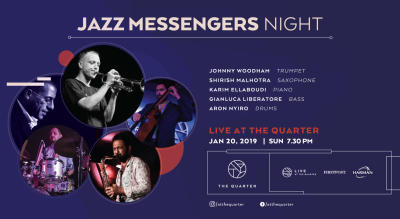 Jazz Messengers Night at The Quarter