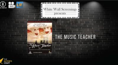 White Wall Screenings presents The Music Teacher