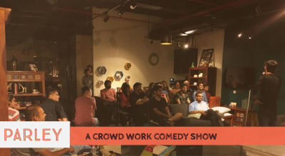 Parley – A Crowd Work Comedy Show