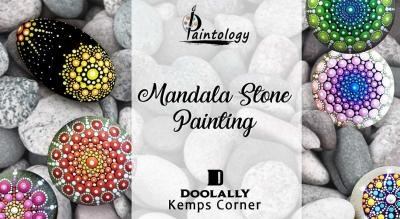 Mandala Pebble Painting workshop by Paintology