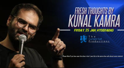 Fresh Thoughts by Kunal Kamra, Hyderabad