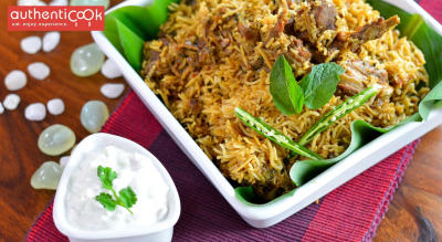 Authenticook presents Taste of Chettinad at The A
