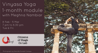 Vinyasa Yoga 1-month module with Meghna Nambiar