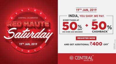Central's Red Haute Saturday