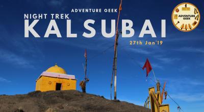 Night Trek to Kalsubai by Adventure Geek