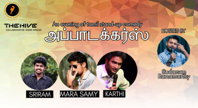 Appatuckers - An Evening of Tamil Stand-up Comedy