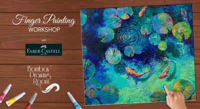 Finger Painting Workshop by Bombay Drawing Room
