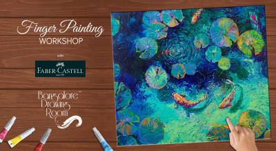 Finger Painting Workshop by Bangalore Drawing Room