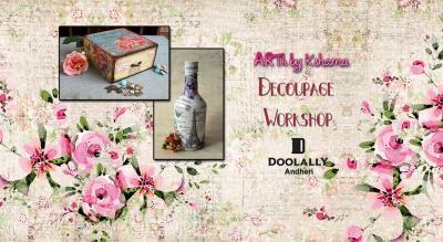 Decoupage Workshop - ARTh by Kshama