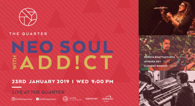 Neo Soul Night with ADD!CT at The Quarter