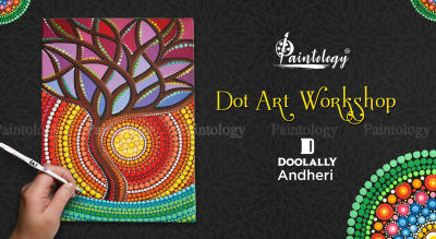 Dot Painting workshop by Paintology