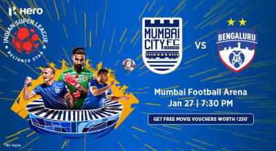 Hero Indian Super League 2018-19: Mumbai City FC vs Bengaluru FC