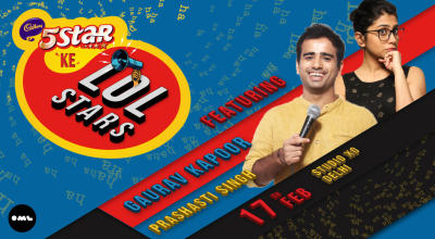 5 Star Ke LOLStars ft Gaurav Kapoor and Prashasti Singh, Delhi