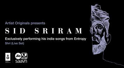 Artist Originals presents Entropy Live by Sid Sriram | Hyderabad
