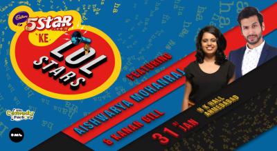 5 Star Ke LOLStars ft Aishwarya Mohanraj and Kanan Gill, Ahmedabad