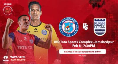 HERO Indian Super League 2018-19: Jamshedpur FC vs Mumbai City FC