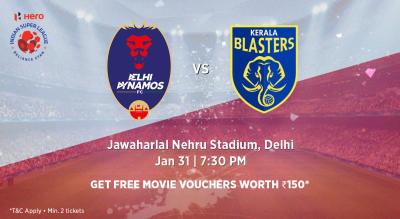 Hero Indian Super League 2018-19: Delhi Dynamos FC vs Kerala Blasters FC