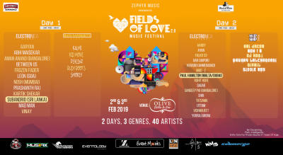 Zephyr Music Presents Fields Of Love Music Festival 2.0 (Second Edition)