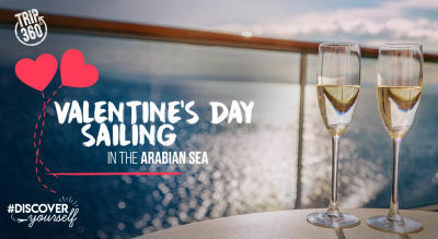 Valentine's Day Sailing in the Arabian Sea by Trip 360