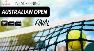 Live Screening : Australian Open Final at Hoppipola Nungambakkam