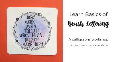 Learn Basics of Brush Lettering