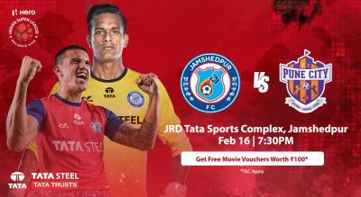 HERO Indian Super League 2018-19: Jamshedpur FC vs Pune City FC