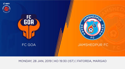 Hero Indian Super League 2018-19: FC Goa Vs Jamshedpur FC