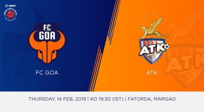 Hero Indian Super League 2018-19: FC Goa Vs ATK