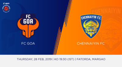 Hero Indian Super League 2018-19: FC Goa Vs Chennaiyin FC