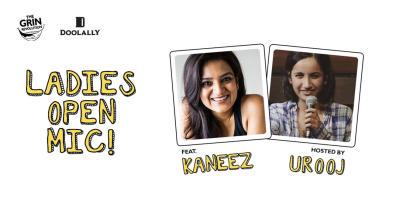 Grin Revolution: Ladies Open Mic w/ Kaneez & Urooj