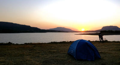Lakeside Eco Camping at Bhandardara