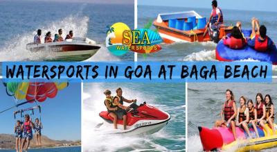 Water Sports in Goa at Baga Beach