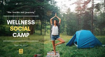 Wellness Social Campout at Rocky Hill Camp