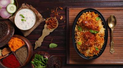 The Dabba Gosht + Mutton Seekh Biryani Special