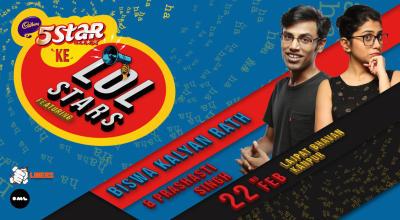 5 Star Ke LOLStars ft Biswa Kalyan Rath and Prashasti Singh, Kanpur