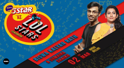 5 Star Ke LOLStars ft Biswa Kalyan Rath and Sumaira Shaikh, Delhi