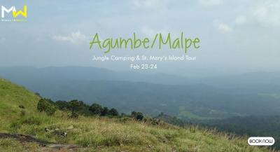 Agumbe - Malpe Jungle Camping And St. Mary's Island Tour
