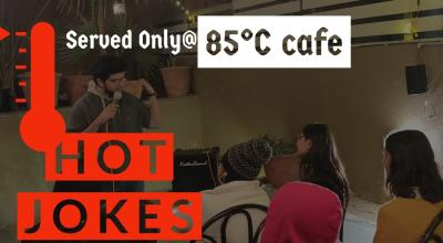 Hot Jokes- served at 85 degrees