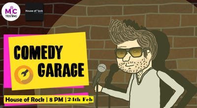 Comedy Garage – Volume 3.0 & 4.0
