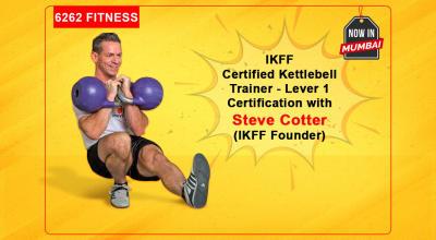 Certified Kettlebell Trainer
