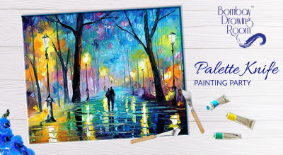 Palette Knife Painting Party by Bombay Drawing Room