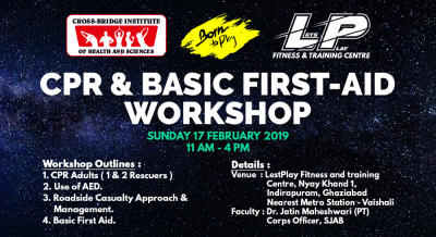 CPR & Basic First-Aid Workshop hosted by LetsPlay Fitness & Training Center