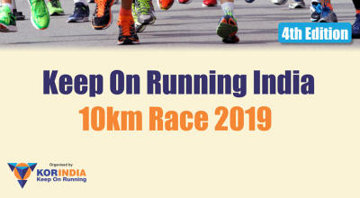 Keep On Running India 10 Km Race 2019