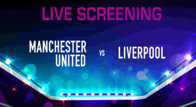 Live Screening : Manchester United vs Liverpool at The 3 Musketeers Pune