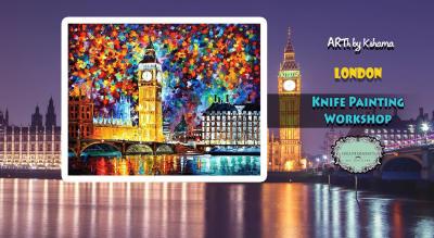 """""""London- Knife Painting Workshop"""" - ARTh by Kshama"""