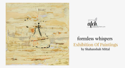 Formless Whispers' Exhibition Of paintings